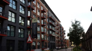 'The Warehouse', a completed development in Woolwich Arsenal by Berkeley Homes.